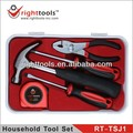 RIGHT TOOLS NEW SET RT-TSJ1 5 PCS HOME TOOL SET