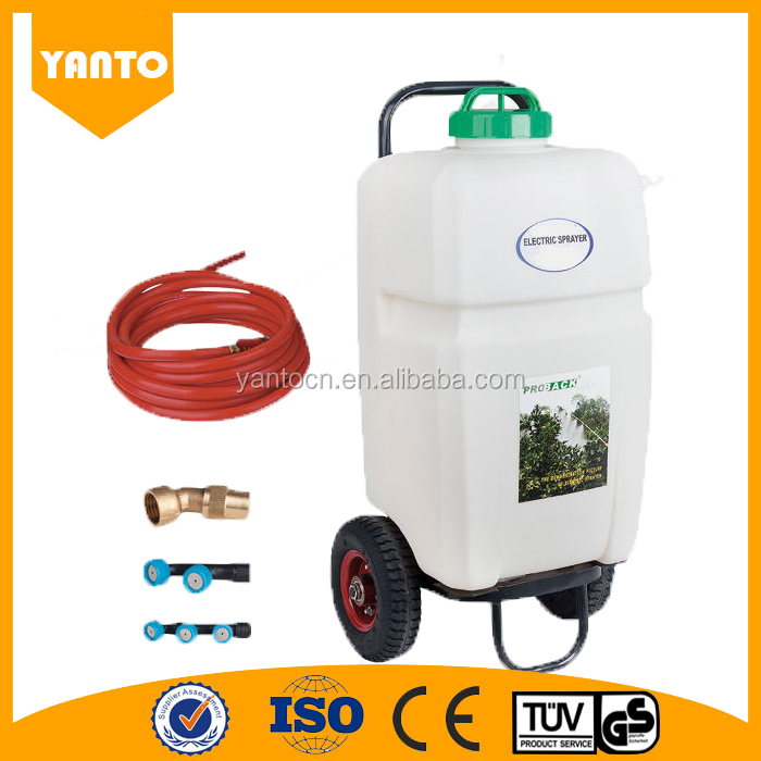 High Quality 35L battery agricultural sprayer Electric Trolley sprayer with wheels
