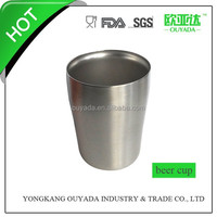 250ml stainless steel metal beer cup bacardi