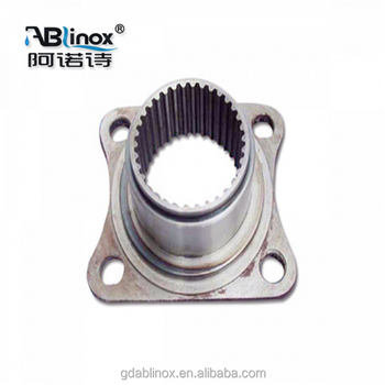 Custom part Stainless steel sand Casting jaw crusher flange plate