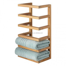 custom new hotel Wooden Towel Rack for sale