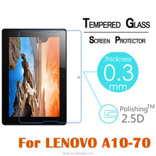 Factory price Glass screen protector for Lenovo tab 2 A10-70F 10.1 inch tablet explosion proof anti shatter tempered glass