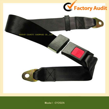 High quality simple 2-point safety seat belt
