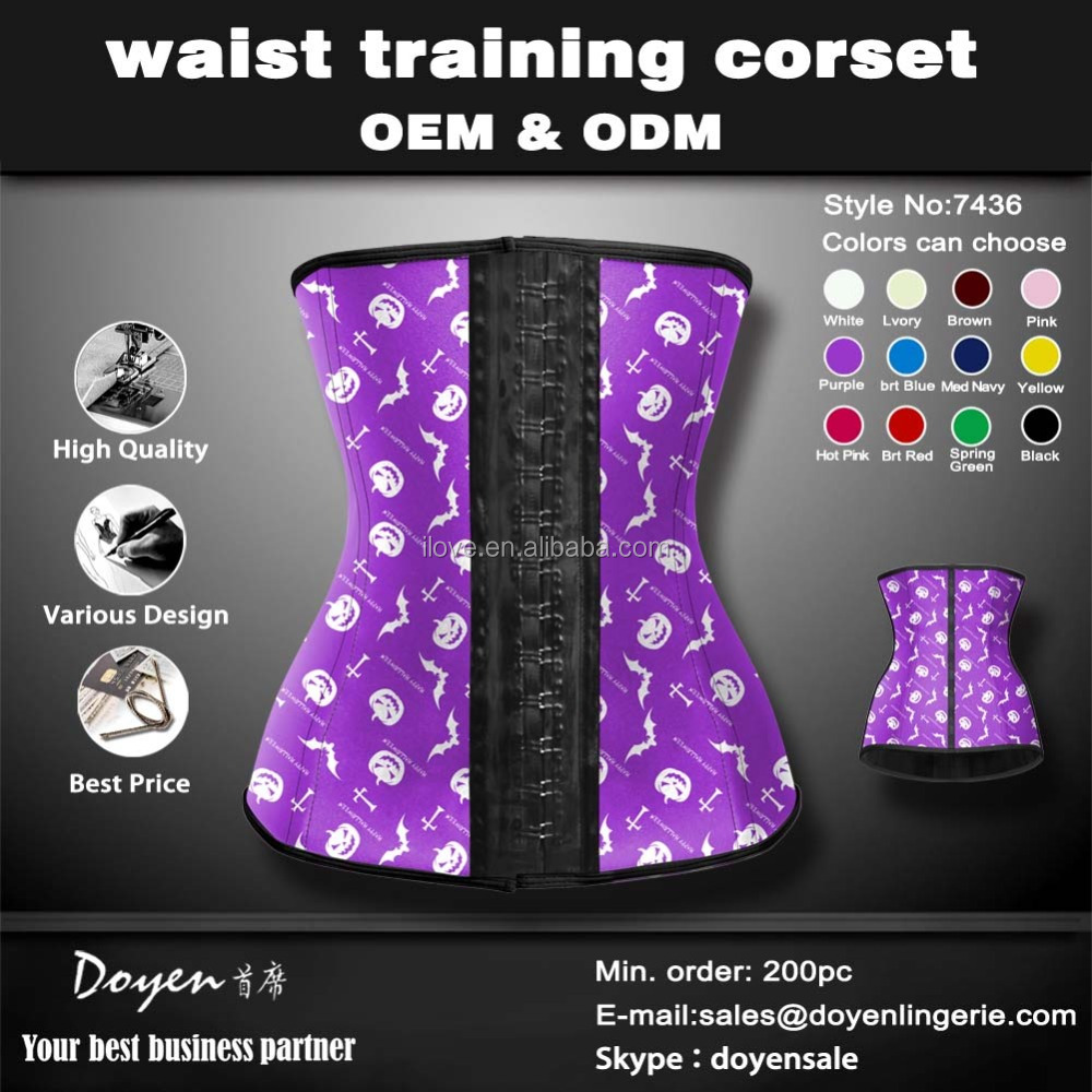 Cheap high quality big women sexy latex lingeries corset