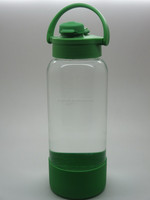950ML 1000ML glass bottle with silicon cover