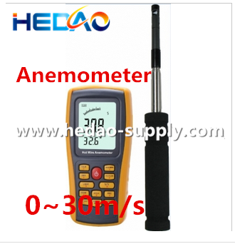 Factory direct sale hot wire kestrel hand held wind turbine anemometer