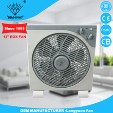 fashionable supplier silent box fan with great price