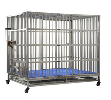 Stainless steel Large dog cage for animals