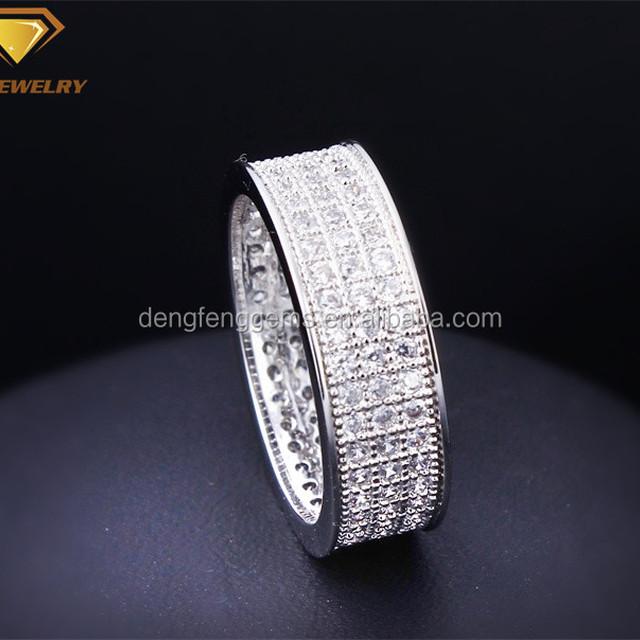 Factory supply 2016 dubai fashion jewelry wedding ring 925 silver ring design diamond ring