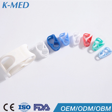 medical disposable parts of infusion set plastic shirt clip band