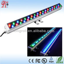 UL Outdoor Linear ip65 36*1w dmx rgb led wall washer light