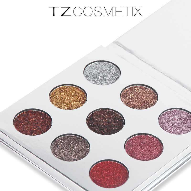Professional Eye Shadow Maquillage 9 Colors Diamond Bright Makeup Eyeshadow