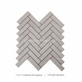 "Interior Decoration1""*4"" Polished Chevron Cinderella Marble Mosaic Wall Tiles"