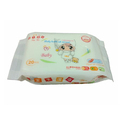 Customized logo nonwoven comfort cheap baby wipes wholesale