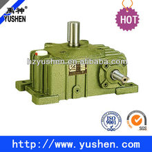 High heat-radiating efficiency WPO worm gear speed reducer