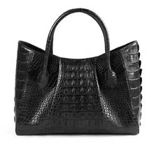 Custom 2016 Shoulder Bag Women Leather Genuine Crocodile