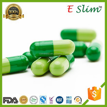 E Slim - 400mg Strongest Appetite Suppressant Fat Burner Slimming Pills Weight Loss Diet Green Capsules with Free Samples