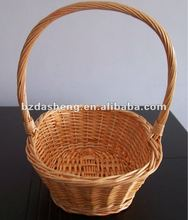 wicker basket for gifts