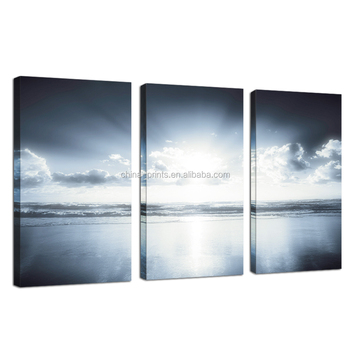 Beautiful Sea Scenery Painting/Wholesale Canvas Prints/Wall Art Decor Frameless