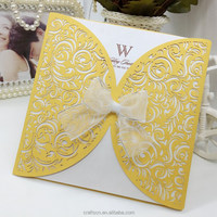 recycled wedding invitation cards model from chinese manufacturer