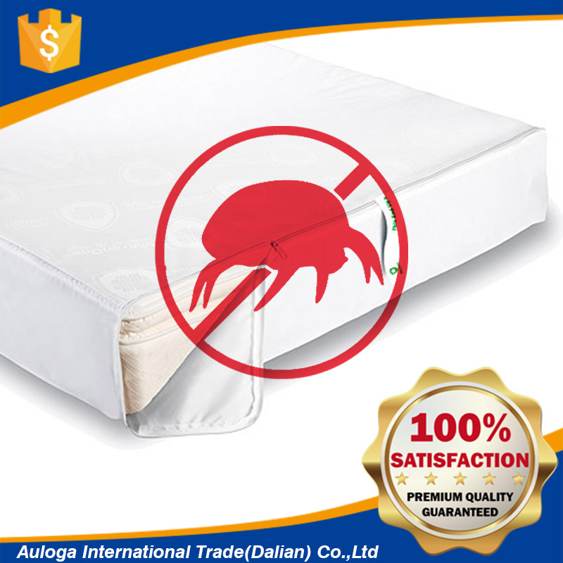 Premium anti bed bug quilted mattress cover protector washable breathable for Amazon sales