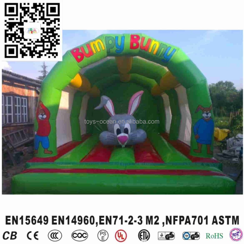 Commercial inflatable Bunny Bounce House for sale