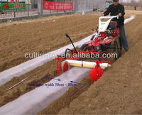 CE multifunction gasoline engine mulch applicator for potato planter