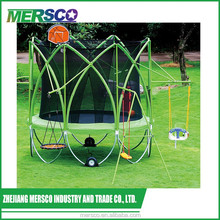 12ft net safety trampoline for sale with chairs for kids