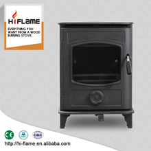 HiFlame GR905 small multi fuel cast iron door wood burning stove