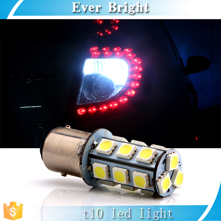 1156 1157 strobe bulbs 5050 18SMD 12V LED Light Car Turn Brake Flash bulb tail light Led auto Bulb