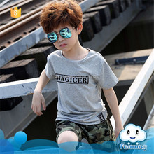 ST-400B Children T shirt for Boys Clothing 2017 Brand Baby Boys Summer Tops Tee Shirt 100% Cotton T-shirt Kids Clothes