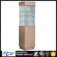 good prices corner frameless glass cabinet display for sale