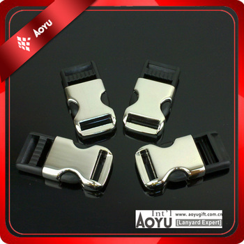 durable hight quality lock metal detachable buckle for lanyard/belt /bag