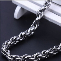 wholse stainless steel two wires bulk chain