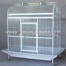 Large well designed wire bird cage,especially for parrot