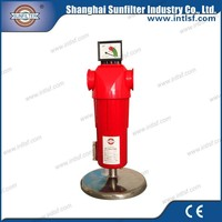 Regenerated air dryer with precise compressed air filter