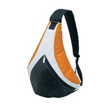 Funky Contrasting tri-panels Sling pack bag for young crowd