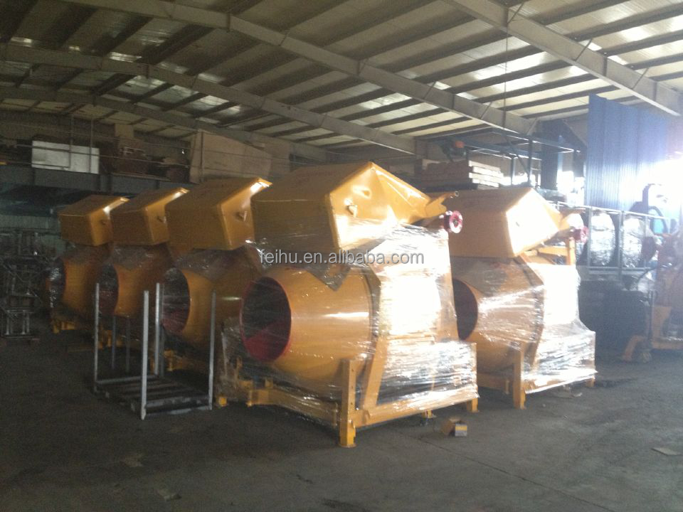 Hot sale Hydraulic Diesel engine Concrete Mixer