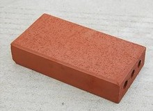 Outdoor paving bricks, perforated square bricks