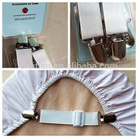 super quality new multi-function Bed Suspender Gripper Strap Holder Fastener Triangle Model