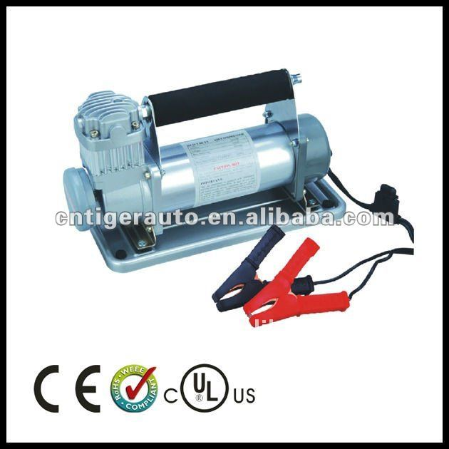 12V Heavy Duty Car Air Compressor 2 Cylinder