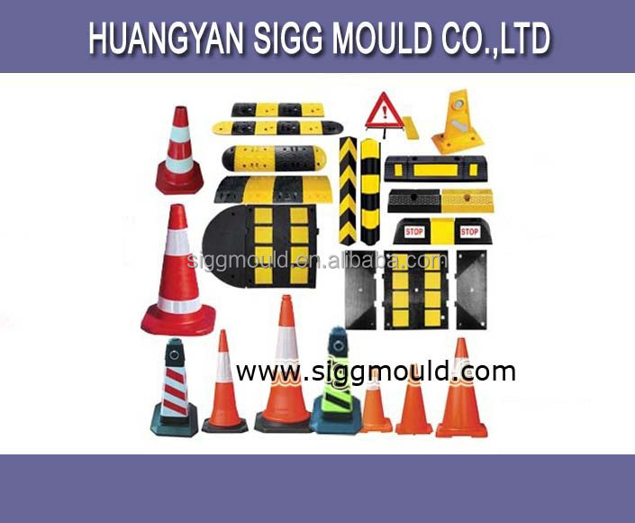 customize industrial mould for traffic road warnning sign