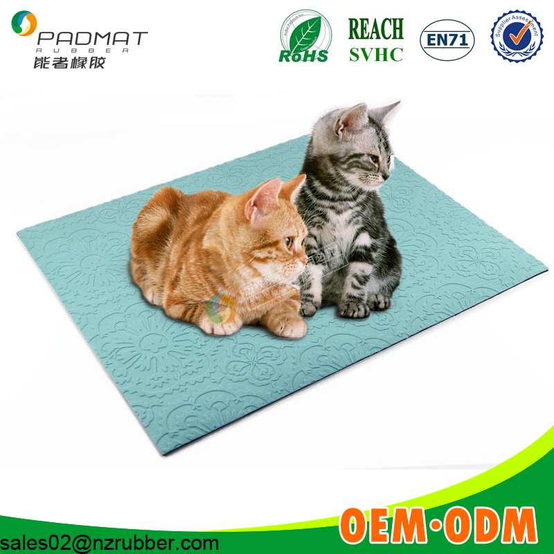 Factory low price veterinary exam table mats for pets