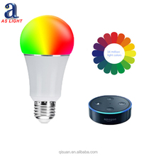 Hot Sale RGB RGBW Smart Led Lights Wifi Powered Lights Color Changing Bulb
