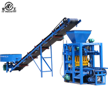 QT4-26 Cheap concrete block making machine/semi automatic concrete block making machine/drawings of block making