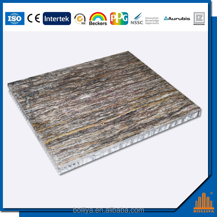 Exterior wall cladding aluminum honeycomb panels prices
