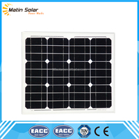 monocrystalline solar panel 30W high quality made in china