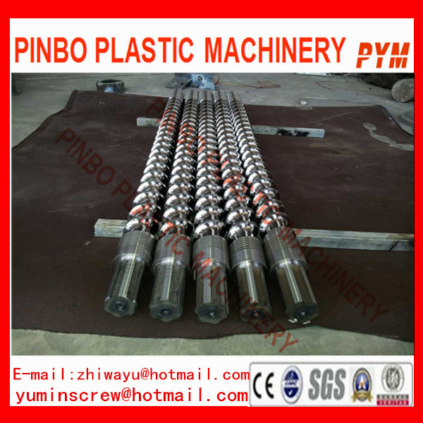 PVC extruder screw barrel with mixing head for shoes machine