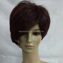 new arrival trendy short brunette hair wig for lady woman