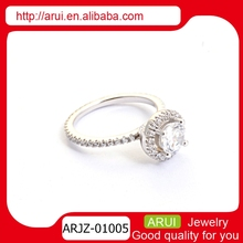 Innovational design new gadgets big diamiond stone ring wedding anniversary gift